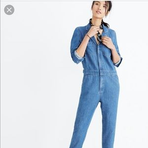 Madewell Denim Coverall